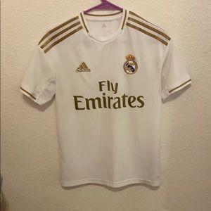 Adidas youth Madrid jersey